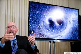 O Kip Thorne ήταν παρών στην ανακοίνωση ανίχνευσης βαρυτικών κυμάτων του LIGO