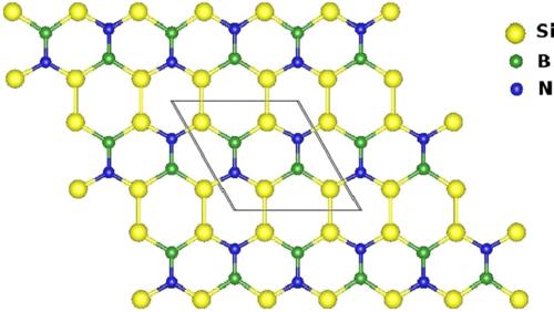 H δομή του Si_2BN