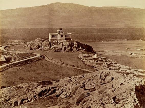 Το Αστεροσκοπείο Αθηνών στις αρχές του 1860