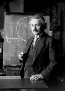 Διάλεξη του Albert Einstein στη Βιέννη το 1921.