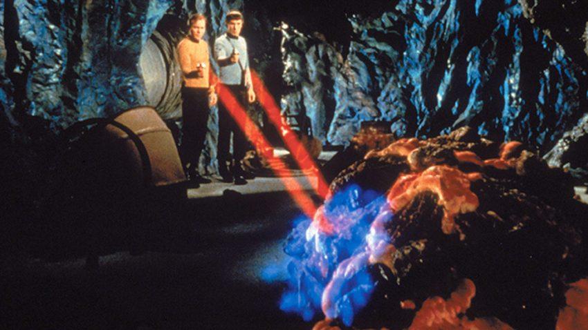 "To Horta στο επεισόδιο ""The Devil in the Dark"" (1967), στο StarTrek είναι μια μορφή ζωής με βάση το πυρίτιο"