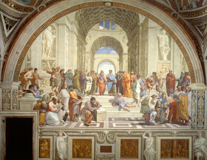 Η Σχολή των Αθηνών (Ραφαήλ)