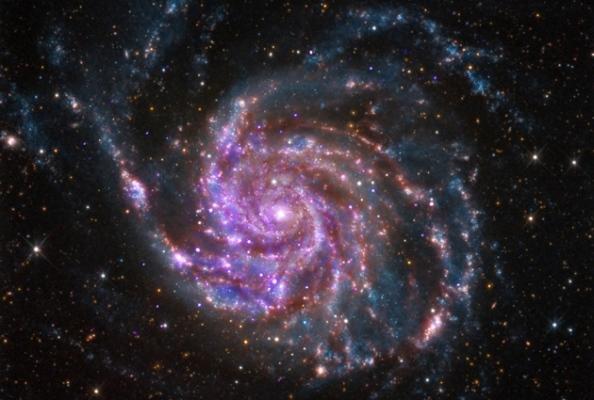 Δεδομένα από γαλαξίες όπως ο M101, επιτρέπουν στους επιστήμονες να υπολογίσουν την ταχύτητα με την οποία διαστέλλεται το σύμπαν.