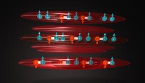 Μαγνητικές συσκευές σε ατομικό επίπεδο θα φέρουν επανάσταση στην αποθήκευση δεδομένων (φωτό: S. Rittner and R. Hulet, Rice University)