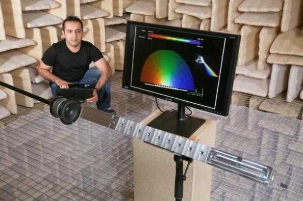 acoustic prism