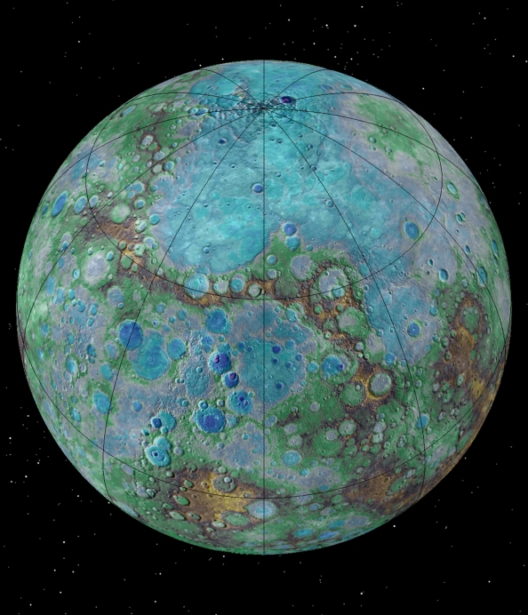 mercury-surface-map