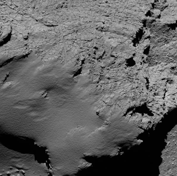 8.9 km από την επιφάνεια του κομήτη Credit: ESA/Rosetta/MPS for OSIRIS Team MPS/UPD/LAM/IAA/SSO/INTA/UPM/DASP/IDA