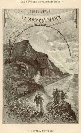 "To 1882, o Jules Verne δημοσίευσε το μυθιστόρημά του ""Le Rayon Verte"""