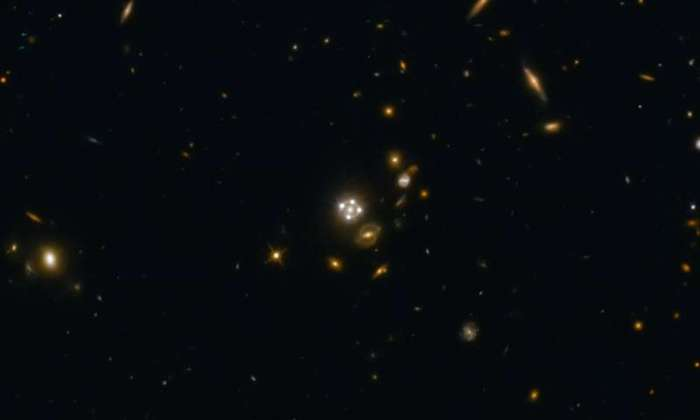 The Hubble Constant estimate from H0LiCOW, 71.9±2.7 kilometers per second per megaparsec, is accurate to 3.8 percent.  Read more at: https://phys.org/news/2017-01-cosmic-lenses-universe-expansion.html#jCp