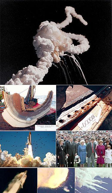 To διαστημικό λεωφορείο κατστράφηκε στις 28 Ιανουαρίου του 1986, 77 δευτερόλεπτα μετά την εκτόξευσή του