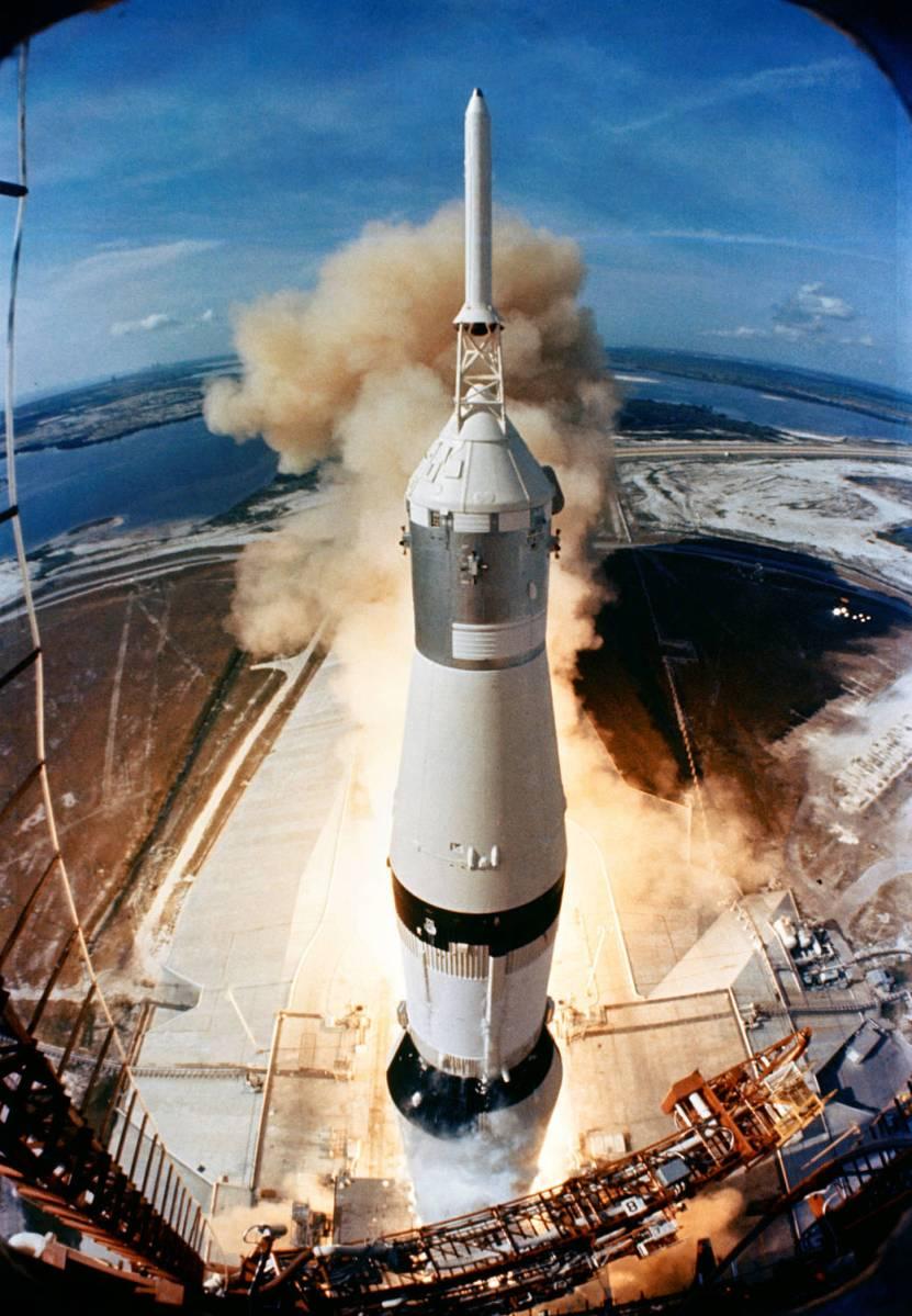49 χρόνια από την εκτόξευση του Απόλλων 11