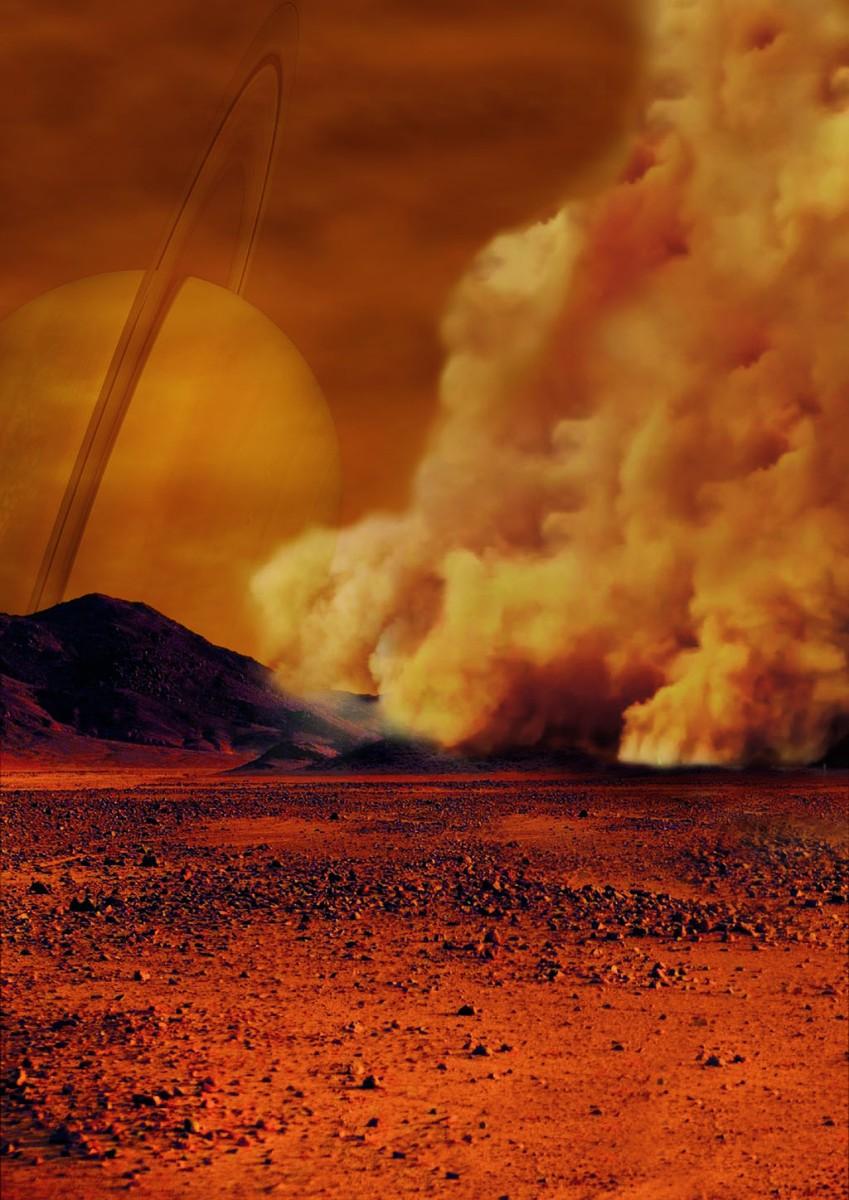 Eνδείξεις για γιγάντιες αμμοθύελλες στον Τιτάνα του Κρόνου