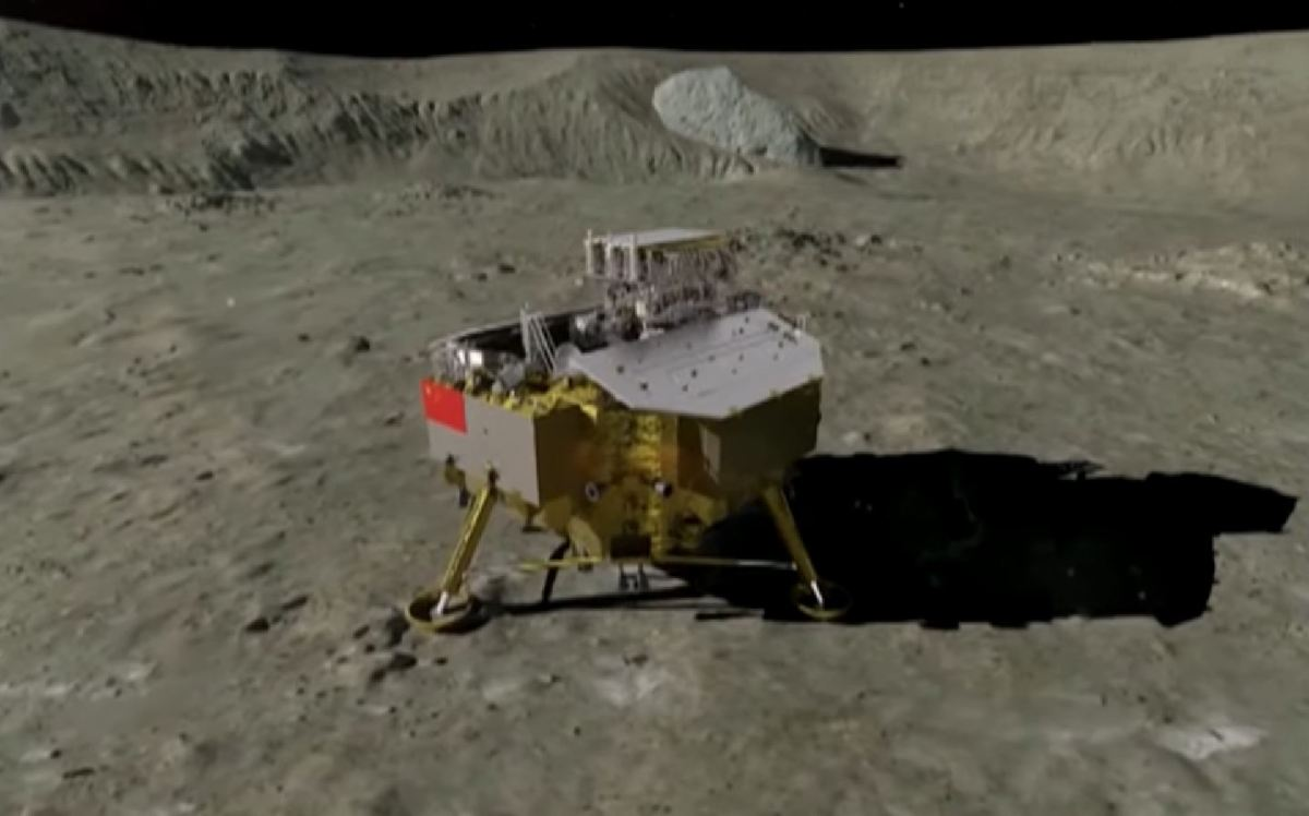 Το κινεζικό διαστημικό σκάφος Chang'e-4 έφθασε στη σελήνη