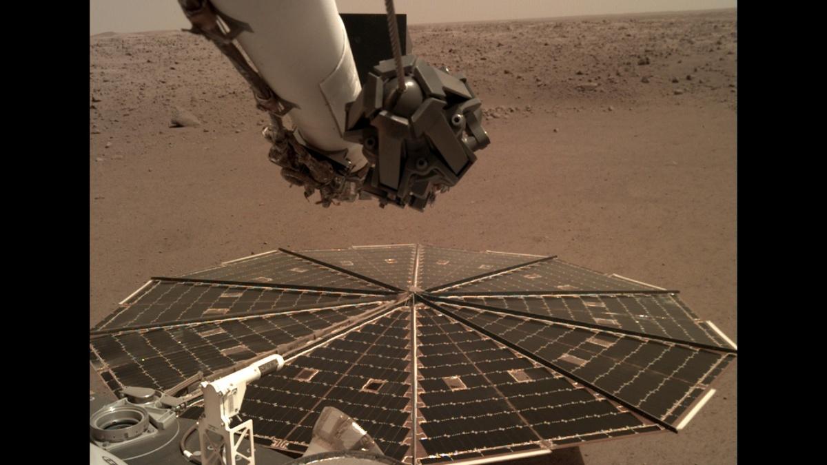 Tο InSight κατέγραψε τον άνεμο στον Άρη
