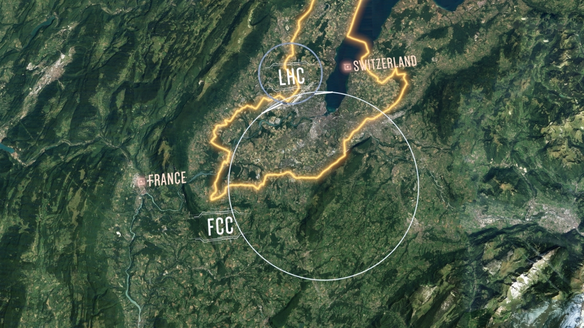 FCC: O αντικαταστάτης του Μεγάλου Επιταχυντή Αδρονίων (LHC)